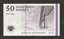 Denmark 50 Kroner Uncirculated !!!