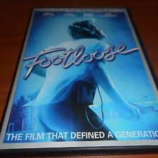 Footloose (DVD, 2011, Widescreen Deluxe Edition) Lori Singer, Kevin Bacon Used