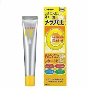 [ROHTO] MELANO CC Vitamin C Brightening Serum Acne Spot Treatment 20g JAPAN NEW