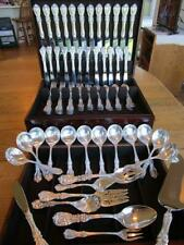 Perfect* Reed Barton Francis I Sterling Silver Flatware Set-S-12+Servers*80P*Nm*