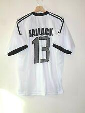 2002 #13 BALLACK GERMANY Football Shirt Jersey size L ADIDAS Tricot Camiseta
