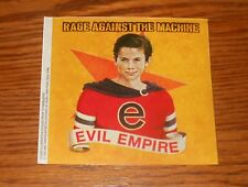 Rage Against the Machine Evil Empire Sticker Decal Square Promo 4x4