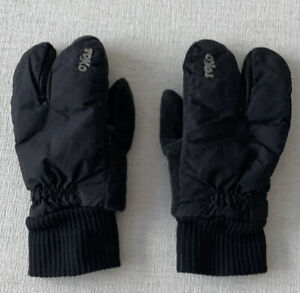 Womens Black Toko Cross Country Ski Gloves Size Small
