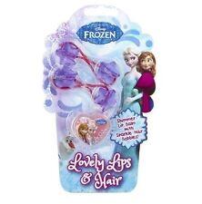 Disney Frozen Lovely Lips & Hair Shimmer Lip Balm With Hair Bobbles