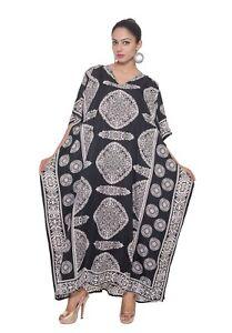 Casual Dress Gown Kaftan Caftan Boho Beach Womens Maxi African Hippie Dashiki