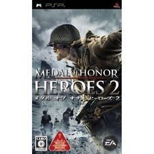 Used PSP  Medal of Honor Heroes 2 SONY PLAYSTATION JAPAN IMPORT