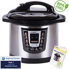 1000W Schnellkochtopf 6 Liter Multikocher elektrisch Reiskocher Dampfdruckkessel
