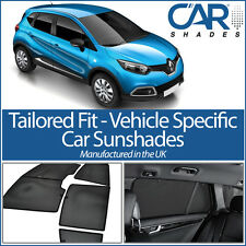 Renault Captur 5dr 13 On UV CAR SHADE WINDOW SUN BLINDS PRIVACY GLASS TINT BLACK