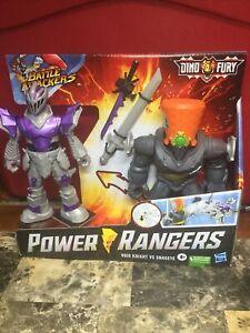 New Power Rangers Battle Attackers Dino Fury Void Knight VS Snageye Hasbro