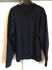Our Legacy Reverse Black Sweater Jumper 48/M Terry