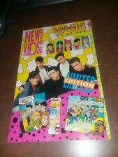 NEW KIDS ON THE BLOCK MAGIC SUMMER TOUR DELUXE FORMAT HARVEY comics 1990 limited