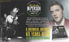 Elvis In Person, The Florida Tour August '56' Hardcover Book - IN STOCK NOW ****