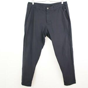 Lululemon Men's Commission Pant Size 36x30 charcoal Flat Front