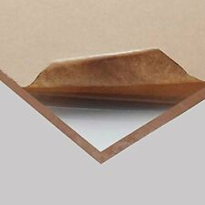 "Acrylic Plexiglass Plastic Sheet 1/2"" x 24"" x 48"" - Clear Cast"