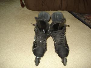 Bauer Off Ice Hockey Roller Blade Skates Men's Sz 8D 5052 051 Black