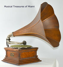 New ListingAntique Victor M Monarch Wood Horn Phonograph