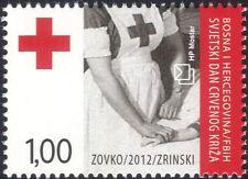 Bosnie Herzégovine 2012 CROIX ROUGE jour/infirmière/médecine/santé/bien-être 1 V (b2756b)