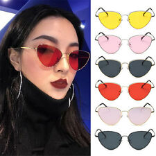 Fashion Cat Eye Oversized Style Women Sunglasses Gradient Lens Oval Frame New