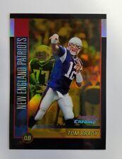 2002 Bowman Chrome Tom Brady Gold Refractor Card /50