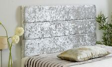 Luxury Alton Chenille Headboard All Sizes and Colours Available Best on EBAY 3ft Single Black 26 Inch