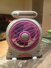 NEW AC/DC RECHARGEABLE INBUILD BATTERY MULTIFUNCTION CAMPING FAN/LED LIGHT