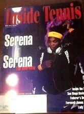 Brand New Inside Tennis Magazine Nov/Dec 2013 Serena on Serena+farewell Blake