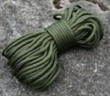 BCB CM030 OLIVE GREEN PARACORD BREAKING STRAIN 50KG 15M / 50FT