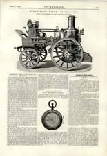 1893 Greenwich Steam Fire Engine Calcutta Merriweather May's Revolution Counter