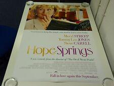 Hope Springs Meryl Streep Comedia Original Película Cartel de una Lámina