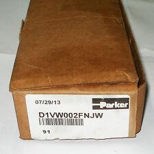 Parker Hydraulic Valve P/N D1VW002FNJW, DIR Control Sol Oper Valve
