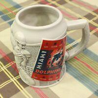 Miami Dolphins Coffee Beer Mug Cup Football NFL Heavy Orange 3D Hot Chocolate