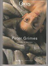 Programme Opéra Bastille Peter Grimes Benjamin Britten