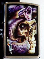 Original ZIPPO Feuerzeug  Mazzi-Skull Snake   2004229 Neu & OVP