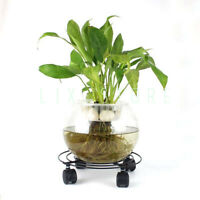 Plant Flower Pot Stand Trolley Caddy on Wheels Indoor Outdoor Home Garden tools