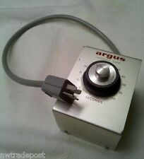 Vtg Metal Argus Automatic Camera Timer Box Model Iii Cord Adapter Attachment