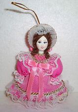 "Beautiful Russian Doll ~ Christmas Ornament ~ 4.5"" ~ NEW"