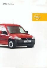 Opel Combo Prospekt 2/01 sales brochure 2001 Auto PKWs Deutschland Autoprospekt