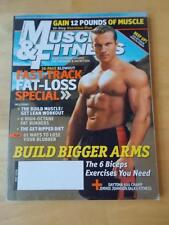 MUSCLE & FITNESS bodybuilding magazine/TOMM VOSS 5-06