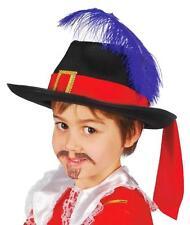 Lote 6 unidades sombrero mosquetero niño infantil