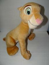 "Disney Lion King Nala Plush Stuffed Animal Large Sitting 2002 Hasbro 17"""
