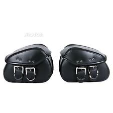 Motorcycle PU Leather Saddle Bag For Yamaha V-Star XVS 250 650 950 1100 1300