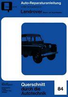 Landrover Benzin Diesel Reparaturanleitung Reparatur-Handbuch Reparaturbuch Buch