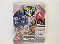 Topps 2018 Mystery Wrestling Box WWE Trading Cards 9 Packs Total