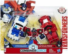 TRANSFORMERS COMBINER FORCE CRASH COMBINERS STRONGARM & OPTIMUS PRIME FIGURE SET