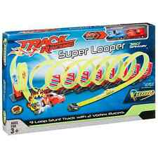 Kids Track Racing Super Looper Builder System LOOP LAUNCHER PLAYSET & Car Toy