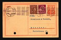 Germany 1927 Uprated Postal Card - Z15664
