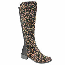 Women's Animal Print Synthetic Boots