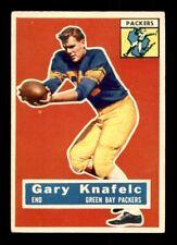 1956 Topps #43 Gary Knafelc Packers VG-EX+ *s4