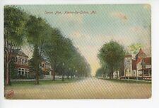 Union Ave HAVRE DE GRACE Antique Dirt Road PC Rare ca. 1910s