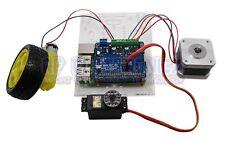 Full Function Robot Expansion Board Support Stepper Motor Servo For Raspberry Pi